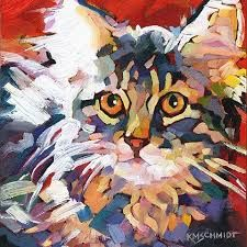 Image result for k. schmidt cat paintings