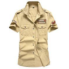 17c2cc17e87 2017 New Polo Shirt Men Summer Casual Cotton Shirt Male Military Army  Flying Tee Shirts Short Sleeve Brand-Clothing