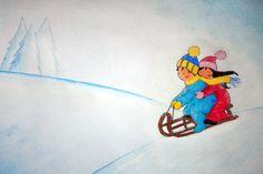 Slikovni rezultat za slike zimske radosti Princess Peach, Snowman, Fictional Characters, Art, Craft Art, Kunst, Fantasy Characters, Snowmen, Art Education
