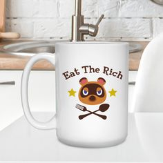 $14.95 - $17.95 (11-15 Oz) . Product Sold by Amazon.com . IDEAL GIFT FOR FRIENDS - Our funny mug gift is perfect for anyone, especially coffee lovers. With cute design and unique quotes will make them love it! Be it for your brother, sister, parents, grandparents, best friend, lover, child, fiance, husband, wife, in-laws, cousins, aunts, uncles, boss. EXCLUSIVE DESIGN MUG FOR YOURSELF - Describe who you are with this mug by drinking a cup of coffee or maybe a hot chocolate? What a perfect match! Game Presents, Presents For Best Friends, Best Friend Gifts, Gift Card Games, Eat The Rich, Unique Quotes, Aunts, Brother Sister, Coffee Lovers