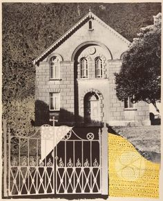 Penybont Ford Congregational Church Silkscreen Print by John Piper