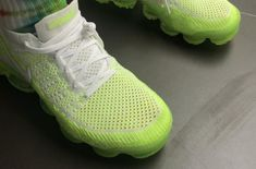 Take A Look At This Highlighter Colorway Of The Nike Air VaporMax 2 Nike Air Vapormax, Sneakers Nike, Shoe Game, Take That, That Look, Jordans, Highlights, Kicks, Tennis