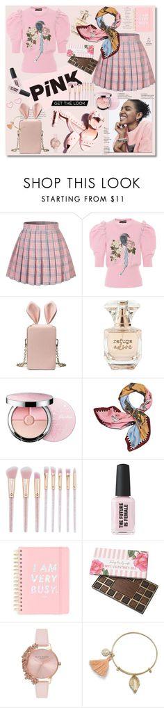 """Pink"" by ilona-828 ❤ liked on Polyvore featuring Dolce&Gabbana, Refuge, Guerlain, Tory Burch, ban.do, Olivia Burton, Pink and polyvoreeditorial"