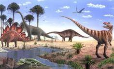 Photographic Print: Jurassic Dinosaurs, Artwork by Richard Bizley : Jurassic Park Film, Jurassic World, Wall Art Prints, Poster Prints, Dinosaur Pictures, Spinosaurus, Prehistoric Animals, Beach Landscape, Scenery