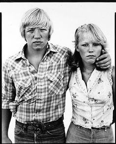 In the American West. Richard Avedon