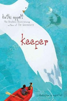 Newbery Medal Honoree Kathi Appelt enchants with a tale about mermaids, mermen, and what happens when you believe in fairy tales for too long. Keeper was born in the ocean, and she believes she is par