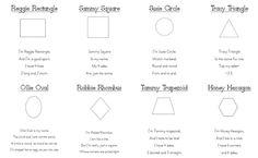 shape poems