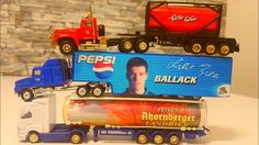 Toy Cars & Trucks: Semi Trucks and Cars Diecast Collection. Pepsi Truck and More!