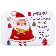 SHARE & Get it FREE | Antislip Merry Christmas Santa Room Decor Doormat CarpetFor Fashion Lovers only:80,000+ Items·FREE SHIPPING Join Dresslily: Get YOUR $50 NOW!