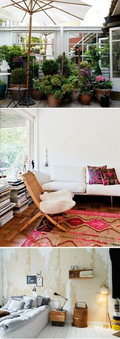 Kreativ inredning - love the outdoor room