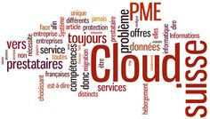 Tag cloud pour le Cloud suisse