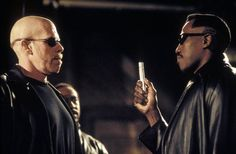 Ron Perlman, Wesley Snipes, and Danny John-Jules in Blade II Best Vampire Movies, Best Action Movies, Vampire Stories, Action Film, Live Action, Blade Film, Blade Movie, Eric Bana, Colin Farrell
