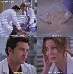 Derek: What is that? Meredith: They are tables. Meredith: It's my mad . - - Derek: What is that? Meredith: They are tables. Meredith: It's my mad . Greys Anatomy Episodes, Greys Anatomy Funny, Greys Anatomy Facts, Greys Anatomy Characters, Grey Anatomy Quotes, Greys Anatomy Season 3, Derek Shepherd, Grey's Anatomy Wallpaper, Anatomy Humor