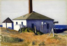 Edward Hopper - House of the Fog Horn, No. 3 1929