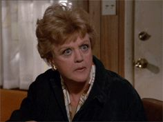 Jessica Fletcher popcorn gif THIS MIGHT BE MY FAVORITE PIN EVER. It makes me happy every time I see it.