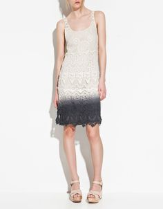Dip died Zara dress _ i desperatly need this.