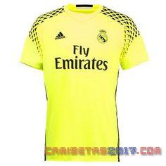 Camiseta portero Real Madrid 2016 2017 segunda