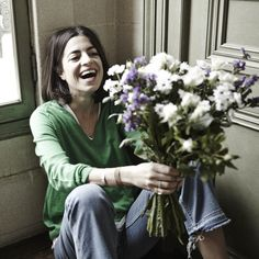 Fine Collection x Man Repeller #streestyle #fashion #finecollection #manrepeller #backstage #bts #fun #flowers
