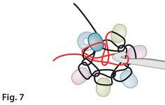 how to bead crochet, Barb Switzer, Beadwork Crochet Bracelet Pattern, Crochet Beaded Necklace, Crochet Jewelry Patterns, Bead Crochet Rope, Beaded Bracelet Patterns, Beading Techniques, Beading Tutorials, Viking Knit Jewelry, Tutorials
