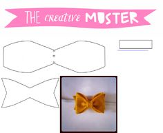 TCM Perfect Sculpted Tiny Felt Bow for Headband Pattern
