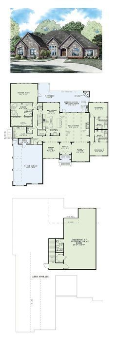 COOL House Plan ID chp 49911 Total