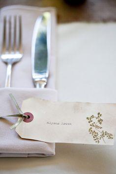 Oh So Beautiful Paper: Alyson + Levi's Vintage Botanical Wedding Invitations