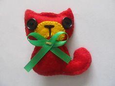 velká červená kočička:)