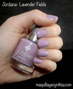 Vernis Jordana Lavender fields Jordana Lipstick, Lavender Fields, Nail Polish, Nail Art, Nails, Beauty, Beauty Tricks, Makeup, Other
