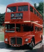 British Bus shuttle for our guests!