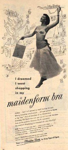 1949 bra.  Shapely, isn't it?
