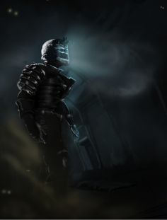 crenomorphs fan art from dead space | gaming issac clarke deadspace 2 deadspace 3 video game art game art