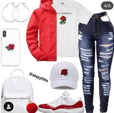 everyday outfits for moms,everyday outfits simple,everyday outfits casual,everyday outfits for women Swag Outfits For Girls, Boujee Outfits, Jordan Outfits, Teenage Girl Outfits, Cute Outfits For School, Cute Casual Outfits, Teen Fashion Outfits, Polyvore Outfits, Stylish Outfits