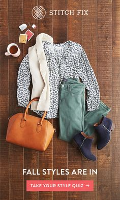 """ to a Personal Stylist with Stitch Fix and make this your most stylish season yet. We'll send you handpicked pieces to try on at home. Keep your favorites and send back the rest. Shipping, returns and exchanges are always free. Stitch Fix Outfits, Fashion 2018, Fashion Brands, Trendy Fashion, Womens Fashion, Stylish Outfits, Fall Outfits, Girly Outfits, Fashion Outfits"