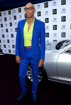 RuPaul fabulous style.... Best Drag Queens, S Club 7, Rupaul Drag, Pretty Men, Black Power, Covergirl, Role Models, Dapper, Celebrities