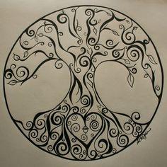 Tree of life. Tattoo? Maybe?