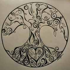 Tree of life. Tattoo? Maybe?