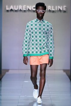 Laurence Airline (MBFWAfrica) Ph. by Simon Deiner #fashion #africa #menswear @ethicalfashion1