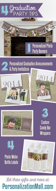 Awesome Graduation Party Tips and ideas! #Graduation #GradParty
