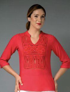 Ref 01/694 Tunic Tops, Lace, Dresses, Paris, Women, Fashion, Tela, Lace Tops, Embroidered Dresses