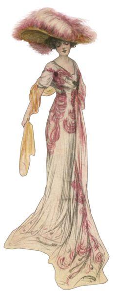 Victorian fashion, ca. 1900s