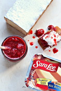 3 Ingredient Strawberry Compote from cravingsofalunatic.com. Simple to make and utterly delicious. This 3 ingredient Strawberry Compote is perfect for pouring overpound cake, ice cream or anything else you little heart desires! #strawberry #compote #sauce