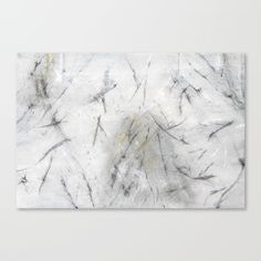 """Fine art print on bright white, fine poly-cotton blend, matte canvas using latest generation Epson archival inks. Individually trimmed and hand stretched museum wrap over 1-1/2"""" deep wood stretcher bars. Includes wall hanging hardware. #abstractart #wallart #canvas #minimal #marble"""