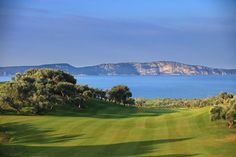 The Bay Course at Coasta Navarino, in Greece, is our #GolfCourseOfTheDay! There, you can play golf with mountain & seaside views.   Rock Bottom Golf #RockBottomGolf