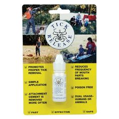 Dog Tick Remover Tools - Tick Release  02 oz -- Want additional info? Click on the image. (This is an Amazon affiliate link)