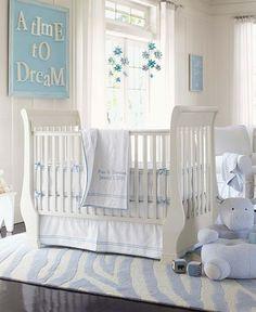 Carolina blue baby room