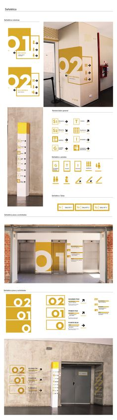 Sooner or later every graphic designer is asked to design a signage for a storefront or general way finding. Here are some awesome signage design inspiration I have been collecting from everywhere. Directional Signage, Wayfinding Signs, Environmental Graphic Design, Environmental Graphics, Signage Design, Branding Design, Kiosk Design, Desgin, Inspiration Wand