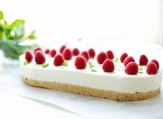 No bake Cheesecake No Bake Cheesecake, Egg Free, How To Make Cake, Sweet Recipes, Oreo, Sweets, Snacks, Baking, Food