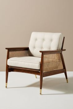 Nadia Caned Accent Chair - Expolore the best and the special ideas about Accent chairs Hanging Furniture, Cane Furniture, Furniture Design, Plywood Furniture, Chair Design, Accent Furniture, Modern Furniture, Home Design, Interior Design