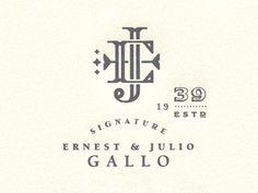 E & J Gallo revolutionary identity Pack 4