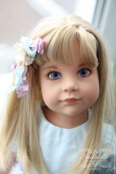 Ханна. OOAK куклы Gotz Cartoon Girl Images, Girl Cartoon, Gotz Dolls, Realistic Dolls, Doll Face, Girls Image, Happy, Beautiful Dolls, Cross Stitch Designs